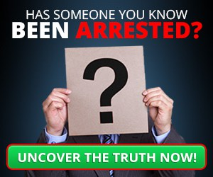 has someone you know been arrested