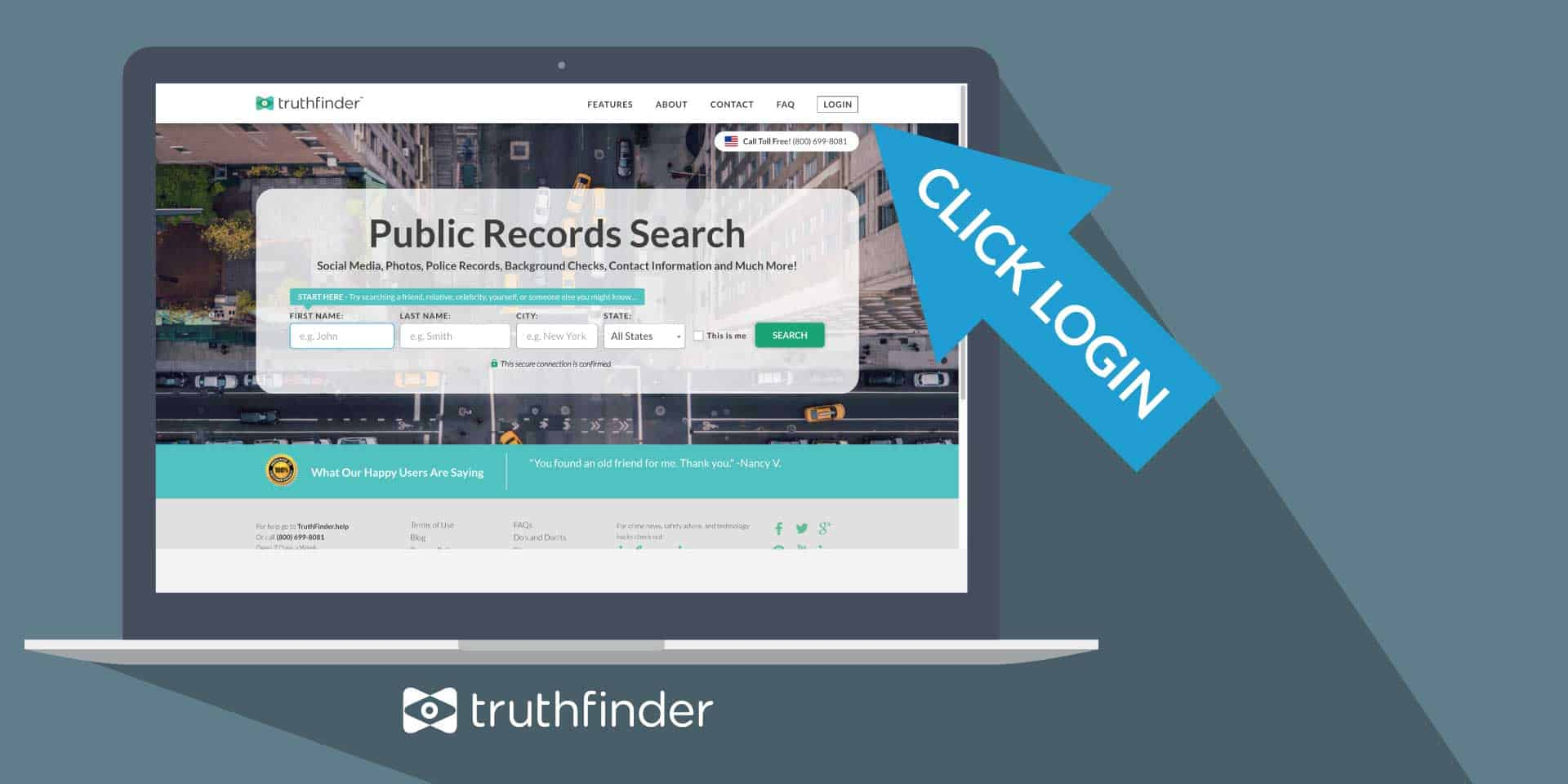 truthfinder.com website