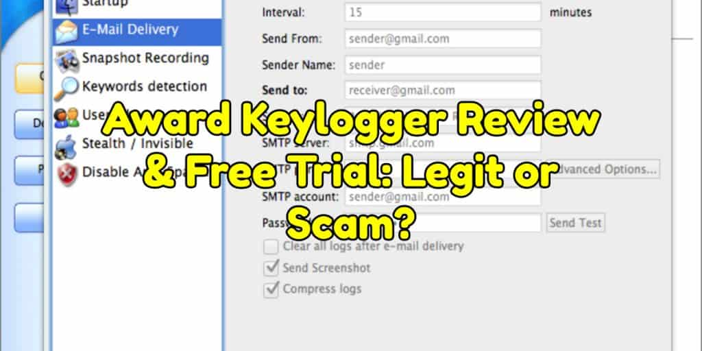 Award Keylogger Review & Free Trial: Legit or Scam?
