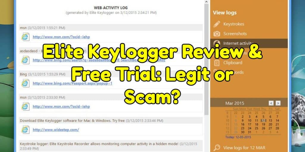 Elite Keylogger Review & Free Trial: Legit or Scam?