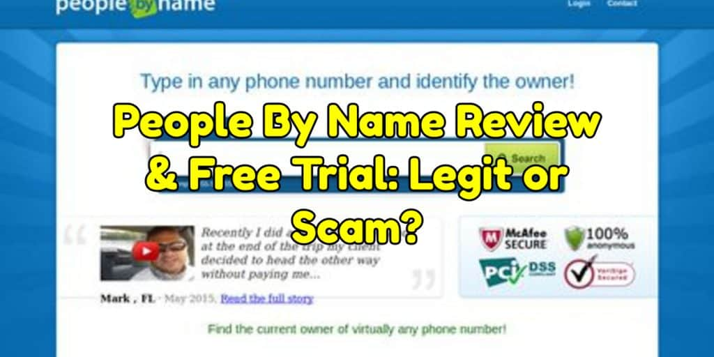 People By Name Review & Free Trial: Legit or Scam? {2019 Update}