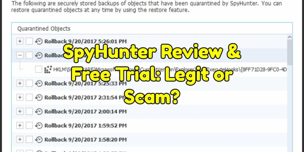 SpyHunter Review & Free Trial: Legit or Scam?