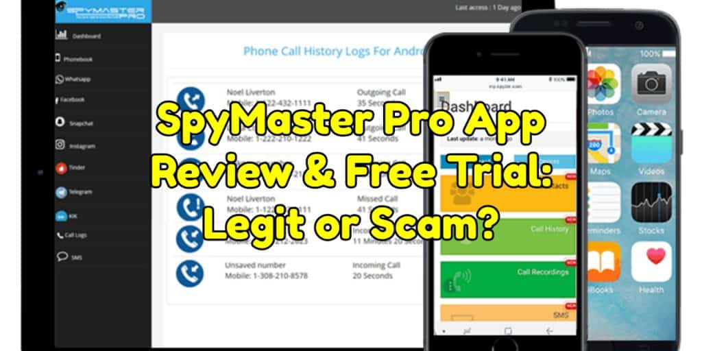 SpyMaster Pro App Review & Free Trial: Legit or Scam?