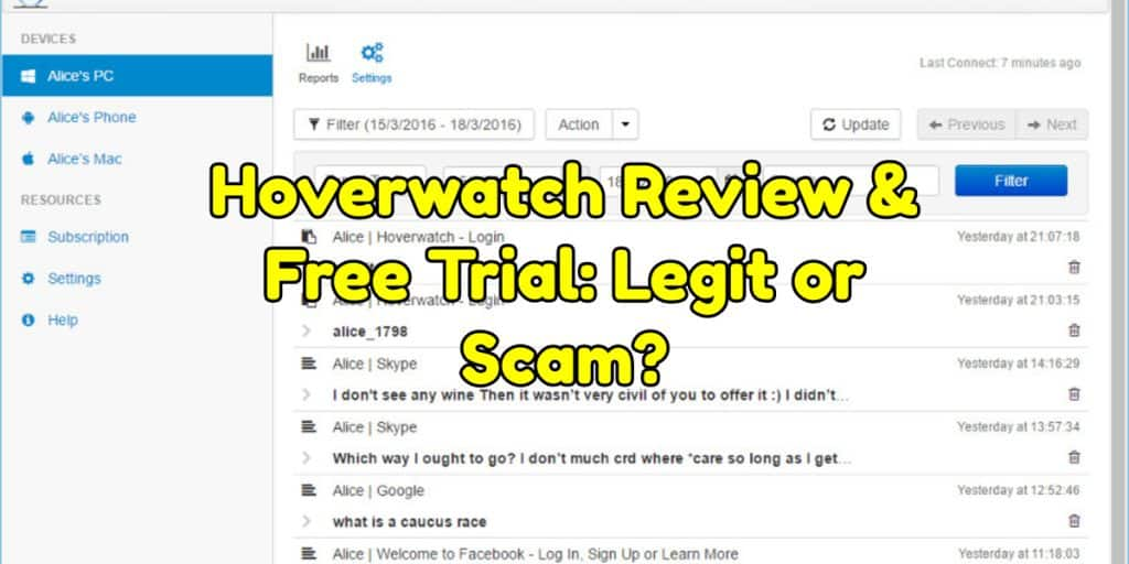 Hoverwatch Review & Free Trial: Legit or Scam?