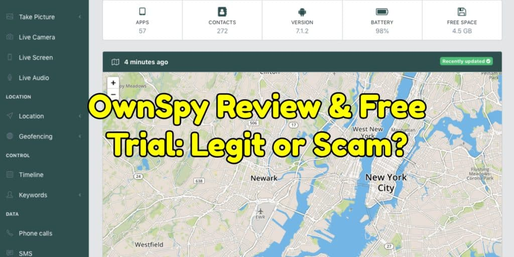 OwnSpy Review & Free Trial: Legit or Scam?