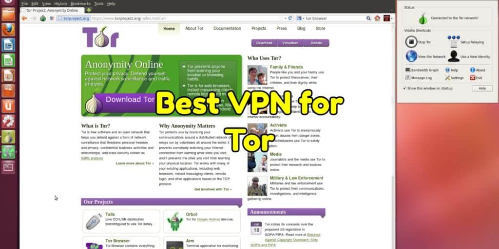 Best VPN for Tor